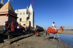Indian Pilgrims Stock Images