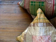 Indian pillows Royalty Free Stock Images