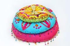 Indian pillows Stock Photo