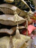 Indian pillows. Bundle of indian pillows Stock Image