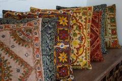 Indian pillows Stock Photos