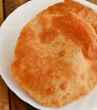 Indian poori Royalty Free Stock Photo