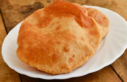 Indian poori Royalty Free Stock Images