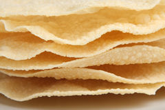 Indian Poppadoms Royalty Free Stock Image