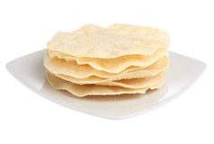 Indian Poppadoms Stock Image