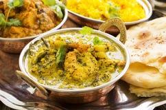 Indian Prawn Curry Stock Photo