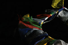 Indian prayer flags Stock Images