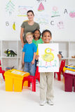 Indian preschooler Stock Image