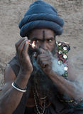 Indian Priest Stock Images