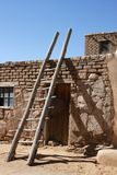 Indian Pueblo Kiva Ladders Stock Images