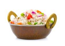 Indian pulav. Indian traditional healthy food kasmiri pulav Stock Photos