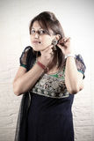 Indian punjabi girl Stock Photography