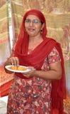 Indian punjabi lady royalty free stock image