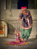 Indian puppeteer. Stock Photography
