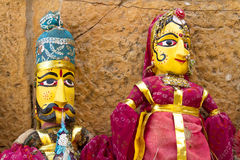Indian puppets Stock Photos