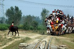 Indian Rail Journey. Stock Image