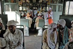 Indian Rail Journey Stock Photo