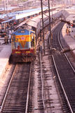 Indian railway Royalty Free Stock Images