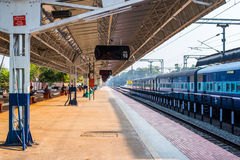 Indian Railways - Alleppey railway station Royalty Free Stock Photography