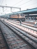 Indian railways, New Delhi, India royalty free stock images