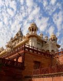 Indian raj memorial. The Jaswant Thada, jodhpur near the Mehrangarh Fort Royalty Free Stock Photos