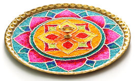 Indian Rangoli Stock Image