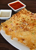 Indian Rava Dosa Royalty Free Stock Image