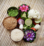 Indian raw food Royalty Free Stock Photo