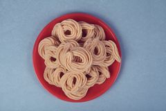 Indian Recipe Murukku Royalty Free Stock Photography