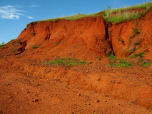 Indian Red Soil-I Royalty Free Stock Photo