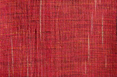 Indian red textile Royalty Free Stock Photos