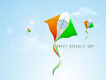 Indian Republic Day celebration concept. Royalty Free Stock Photo