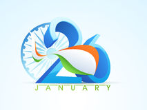 Indian Republic Day celebration concept. Stock Photography
