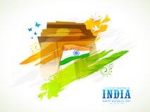 Indian Republic Day celebration concept. Stock Photos