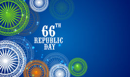 Indian Republic Day celebration concept. Royalty Free Stock Photos