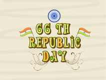 Indian Republic Day celebration concept. Royalty Free Stock Photography
