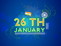 Indian Republic Day celebrations concept. Royalty Free Stock Photo