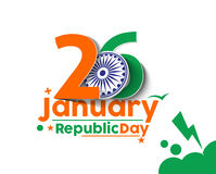 Indian Republic day royalty free stock photos