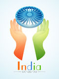 Indian Republic Day and Independence Day celebrations concept. Royalty Free Stock Photo
