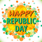 Indian Republic Day 26 January Concept Stock Photos