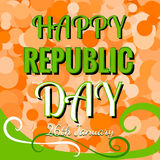 Indian Republic Day 26 January Concept Stock Images