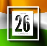 Indian Republic Day vector background Stock Photos