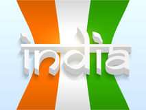 Indian Republic and Independence Day celebration. Royalty Free Stock Image