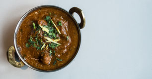 Indian restaurant and Indian specific food Stock Photography