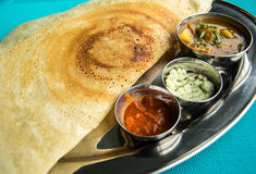 Indian restaurant and Indian specific food Royalty Free Stock Images