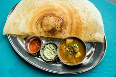 Indian restaurant and Indian specific food Stock Image