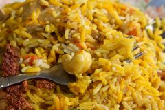Indian rice Royalty Free Stock Photography