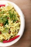 Indian rice breakfast Royalty Free Stock Photos