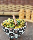 Indian rice. Khichdi in to the bowl Royalty Free Stock Photo