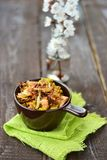 Indian rice. In to the bowl Royalty Free Stock Photography